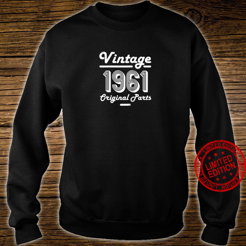 59th Birthday Vintage Age 59 Year Old 1961 Shirt sweater
