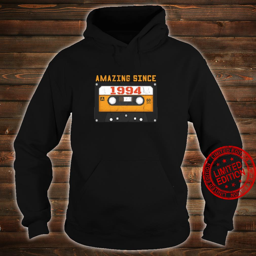 Amazing Since 1994 Birthday Vintage Cassette Tape Shirt hoodie