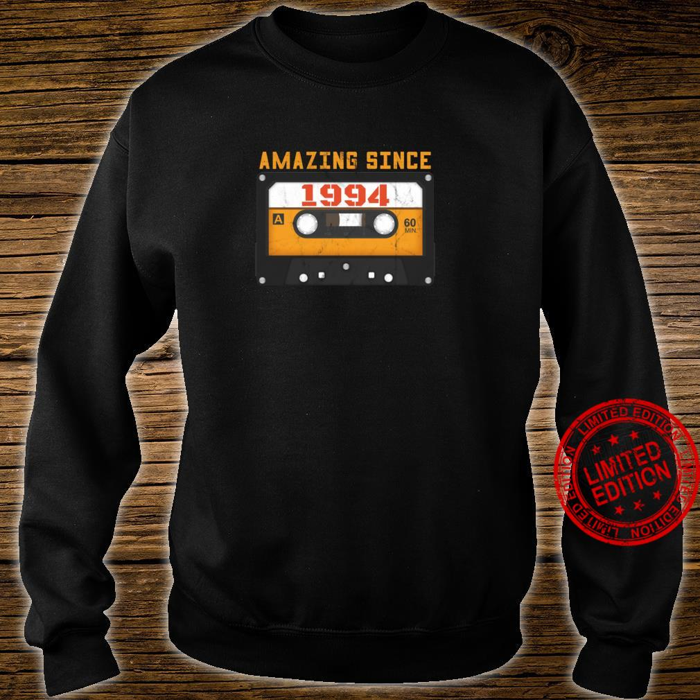 Amazing Since 1994 Birthday Vintage Cassette Tape Shirt sweater