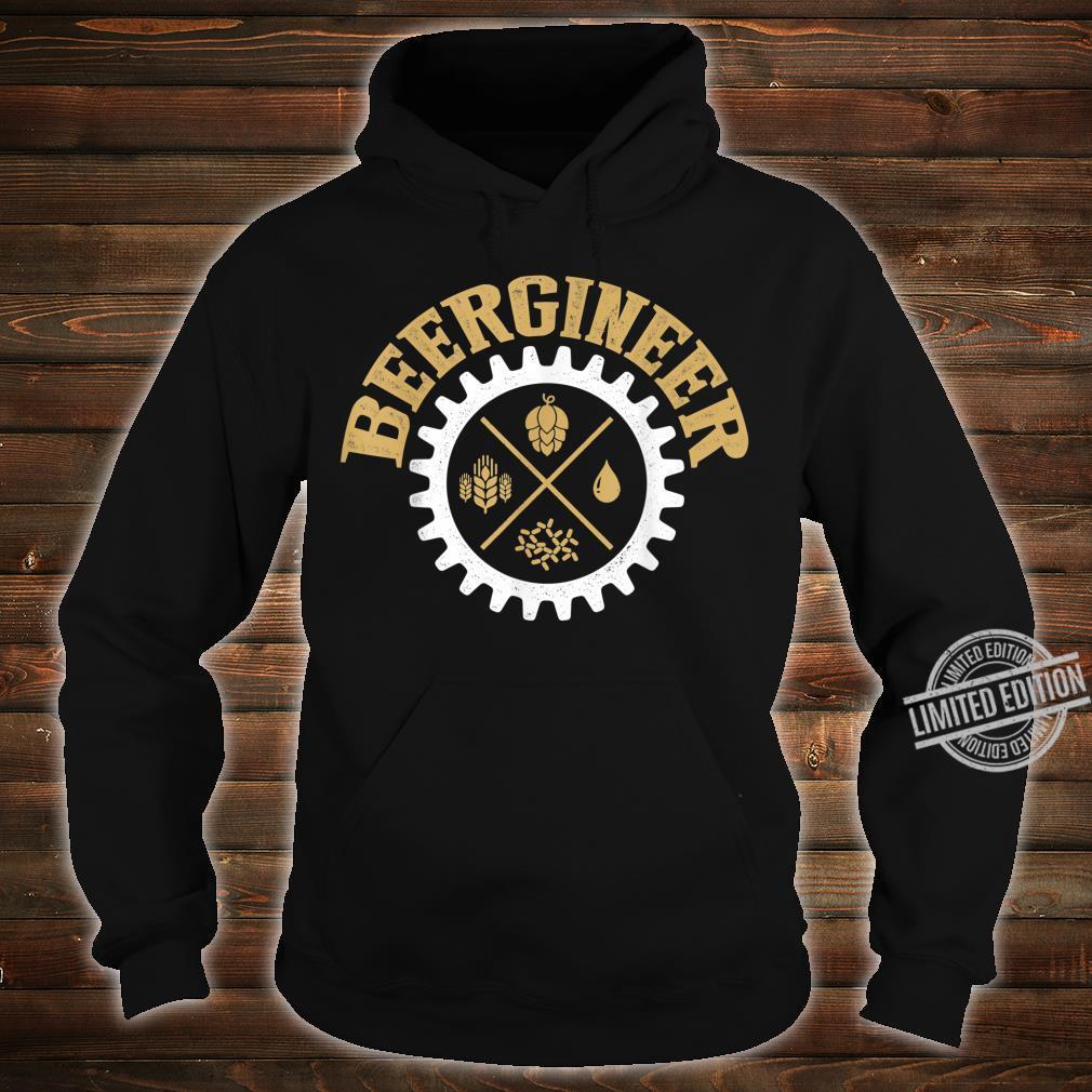 Beergineer Homebrew Home Brewing Craft Beer Brewer Shirt hoodie