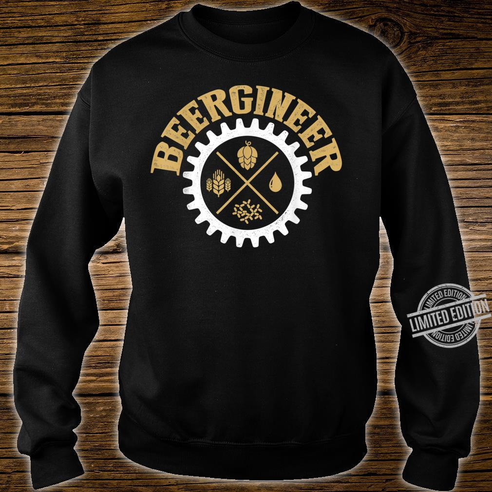 Beergineer Homebrew Home Brewing Craft Beer Brewer Shirt sweater