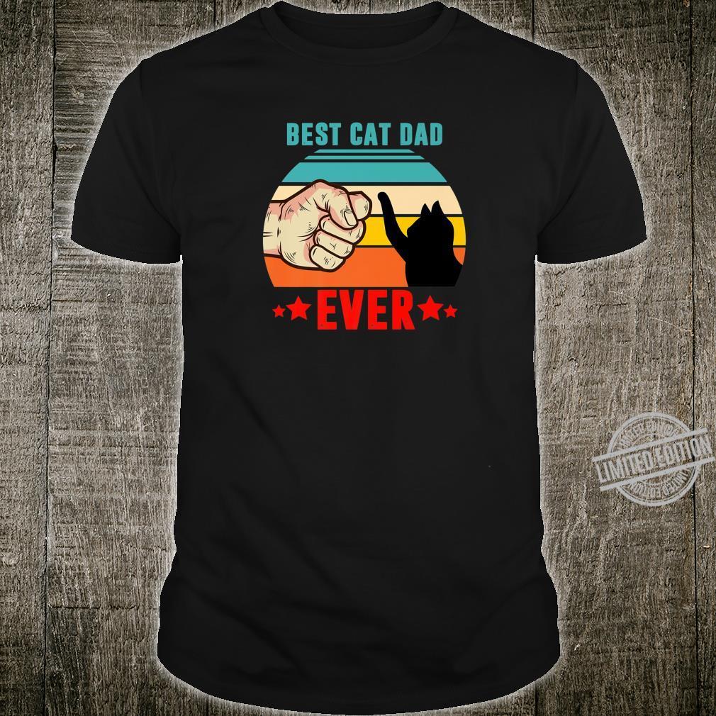 Best Cat Dad Ever, Cat Dad Father Vintage Shirt