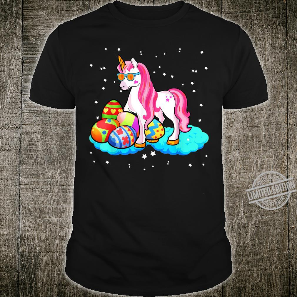 Cute Unicorn Bonnycorn Diy Easter Day Bunny Rabbit Eggs Shirt