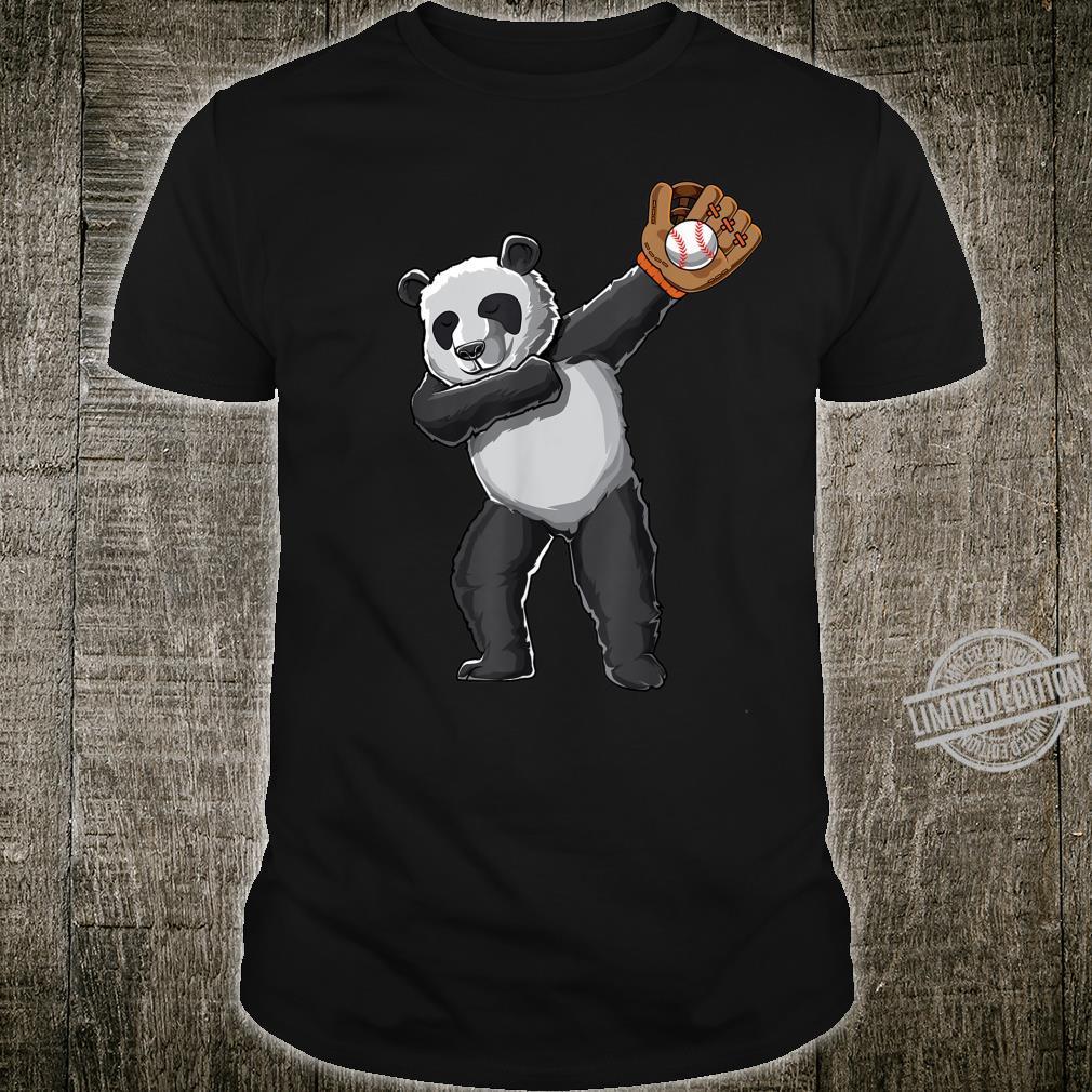 Dabbing panda baseball sport pandas dab Shirt