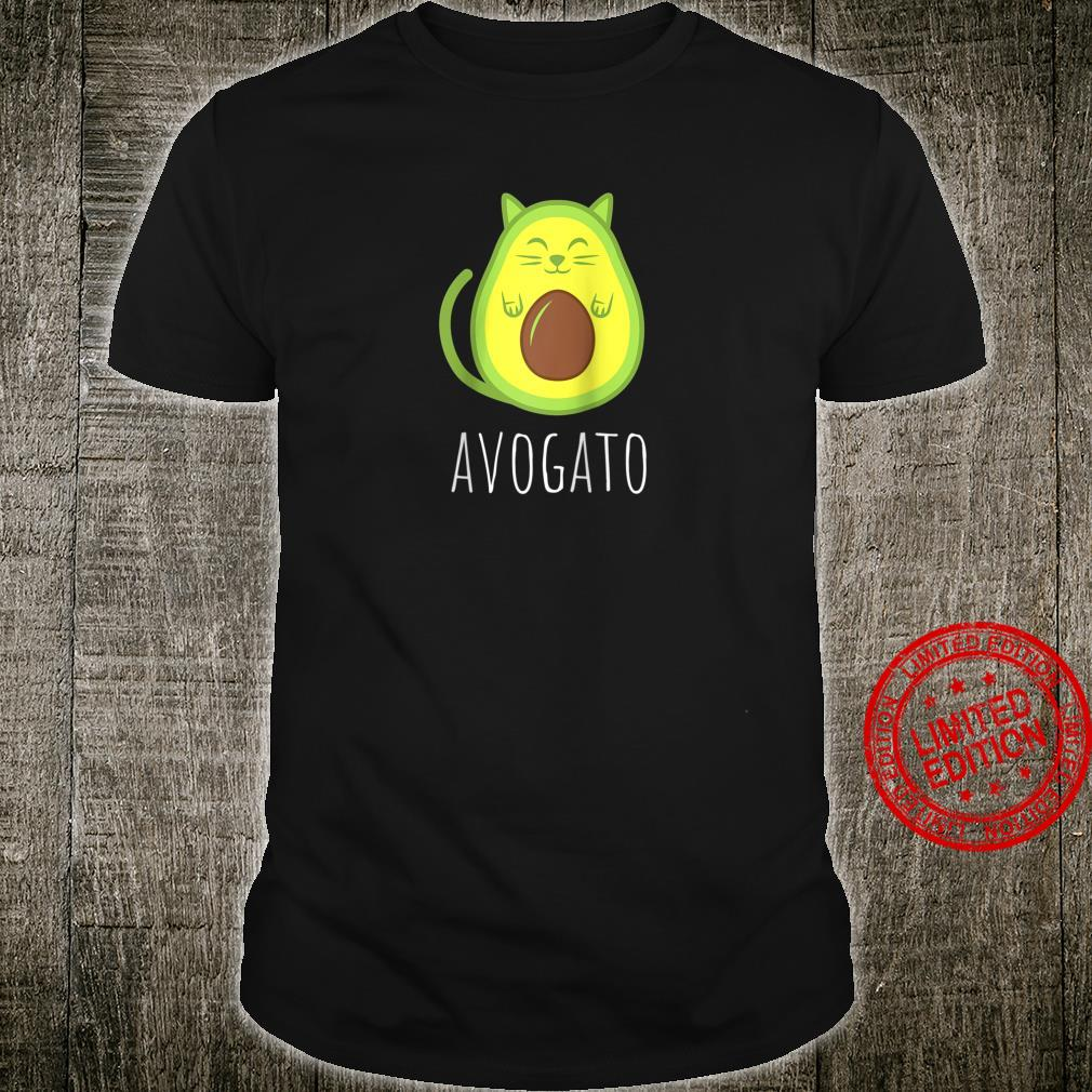 Funny Avogato Cat Avocado Shirt