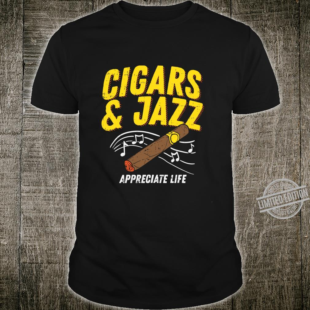 Mens Smooth Jazz and Cigars Festival Shirt