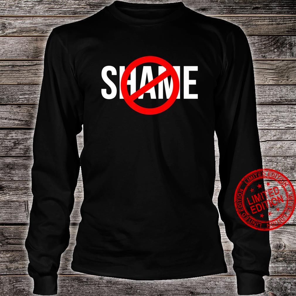 NO SHAME CIRCLE CROSSED OUT Shirt long sleeved