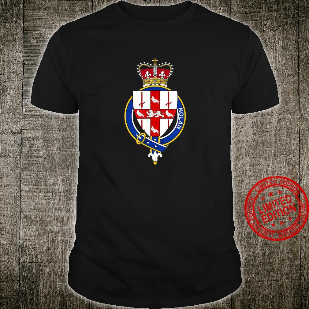 Nolan Coat of Arms Family Crest Shirt