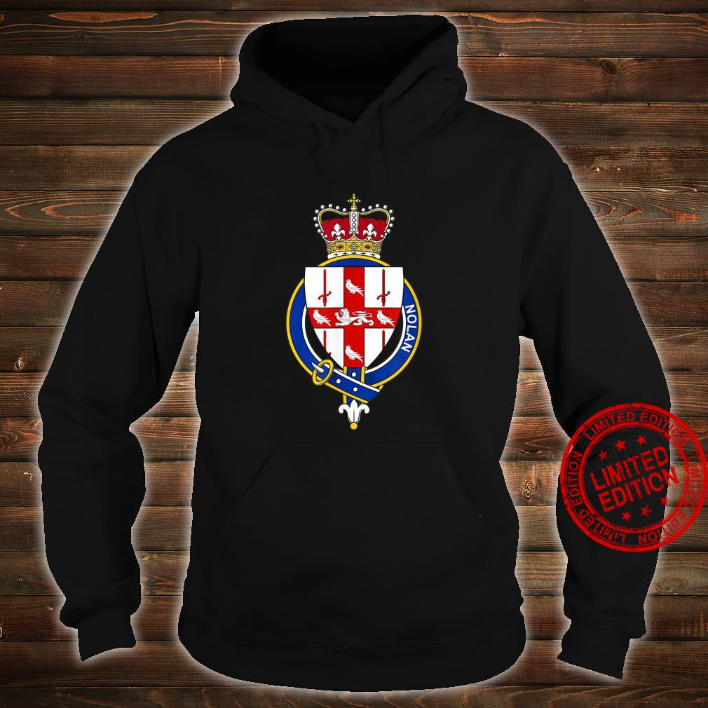 Nolan Coat of Arms Family Crest Shirt hoodie