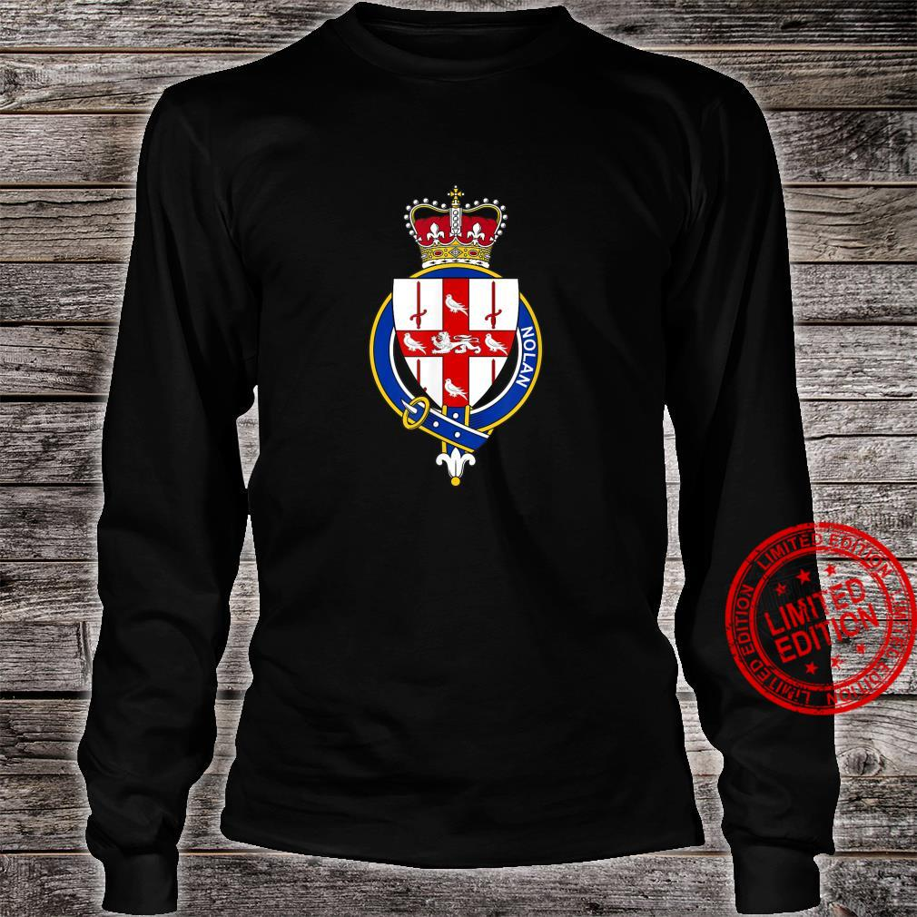 Nolan Coat of Arms Family Crest Shirt long sleeved