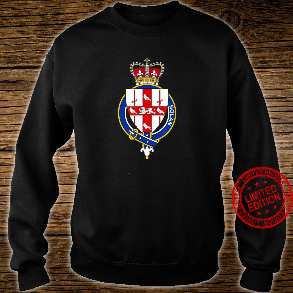 Nolan Coat of Arms Family Crest Shirt sweater