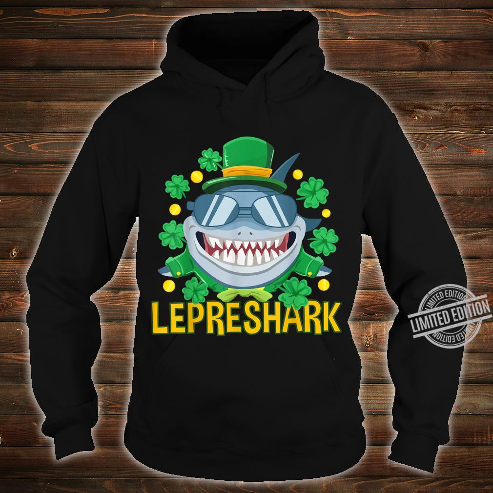 Shark Clothing Leprechaun Outfit Shamrock St Patrick's Day Shirt hoodie