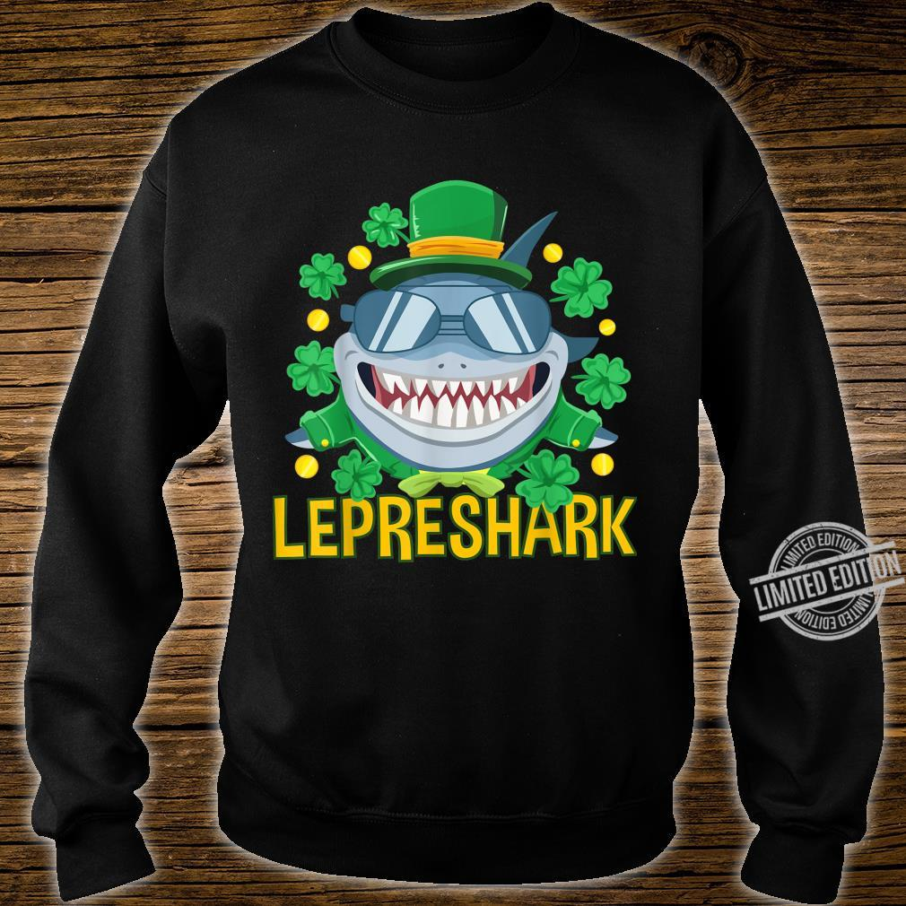 Shark Clothing Leprechaun Outfit Shamrock St Patrick's Day Shirt sweater